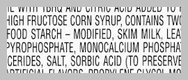 additives on ingredients label