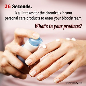 toxic chemicals in personal care products