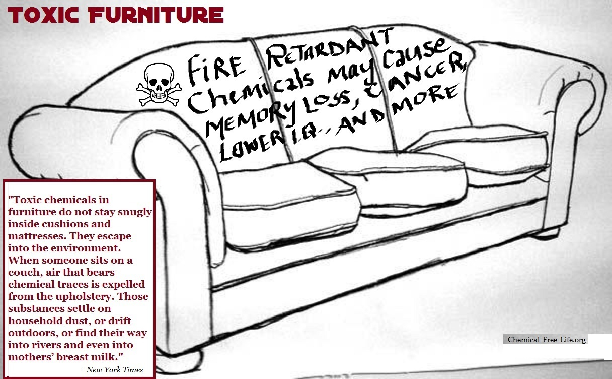 Your Old Sofa May Have A Toxic Secret