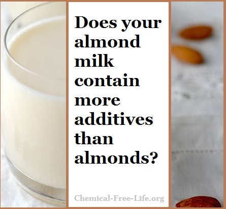 cfl graphic-almond milk filled with additives-few almonds