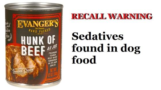 recall-warning-sedatives-in-dog-food