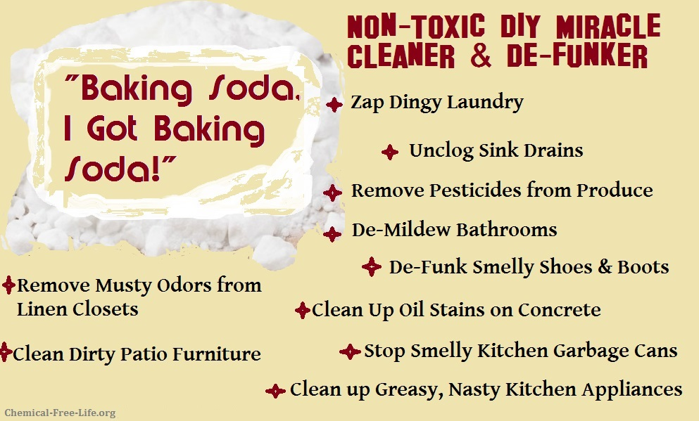 CFL Graphic-DIY Clean Up with Baking Soda