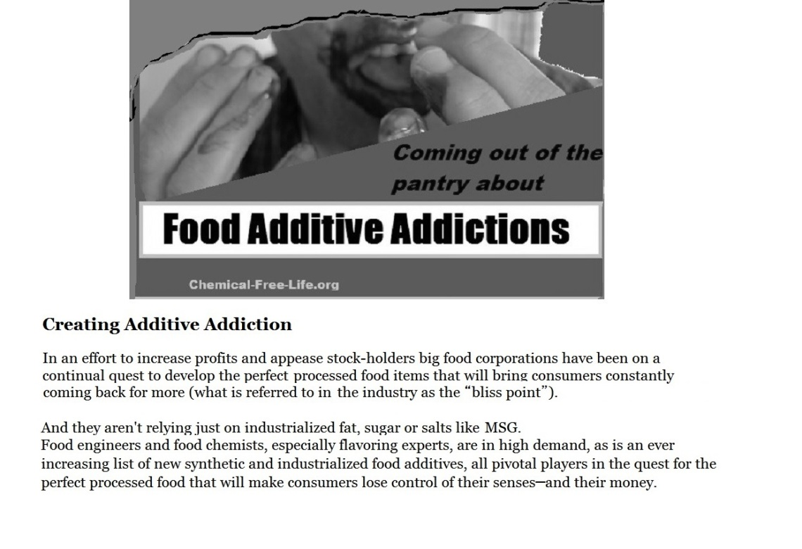 CFL slide-Big Food creates addictions