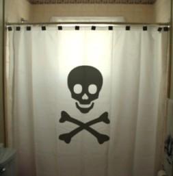 household chemicals-vinyl shower curtain danger