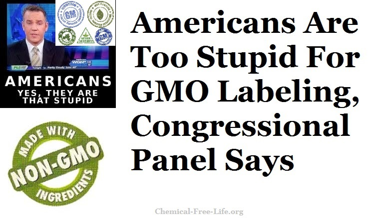 cfl graphic-americans too stupid-gmo labeling