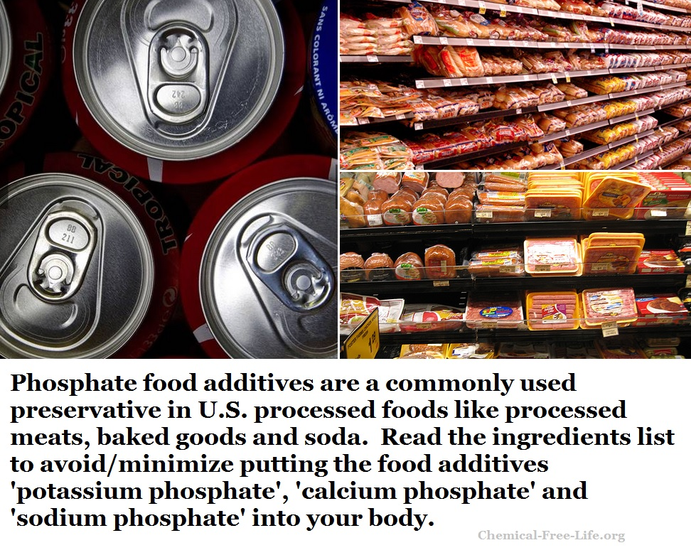 phosphate food additives