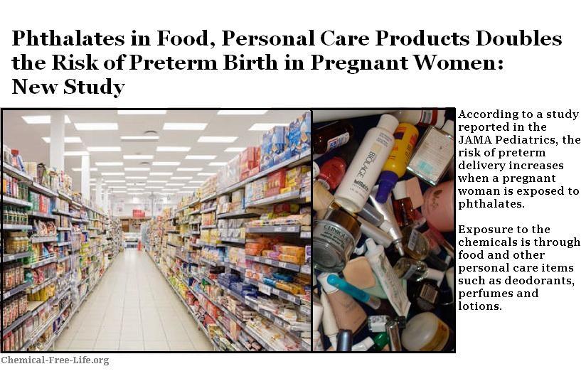 CFL Graphic-phthalates pregnancy study