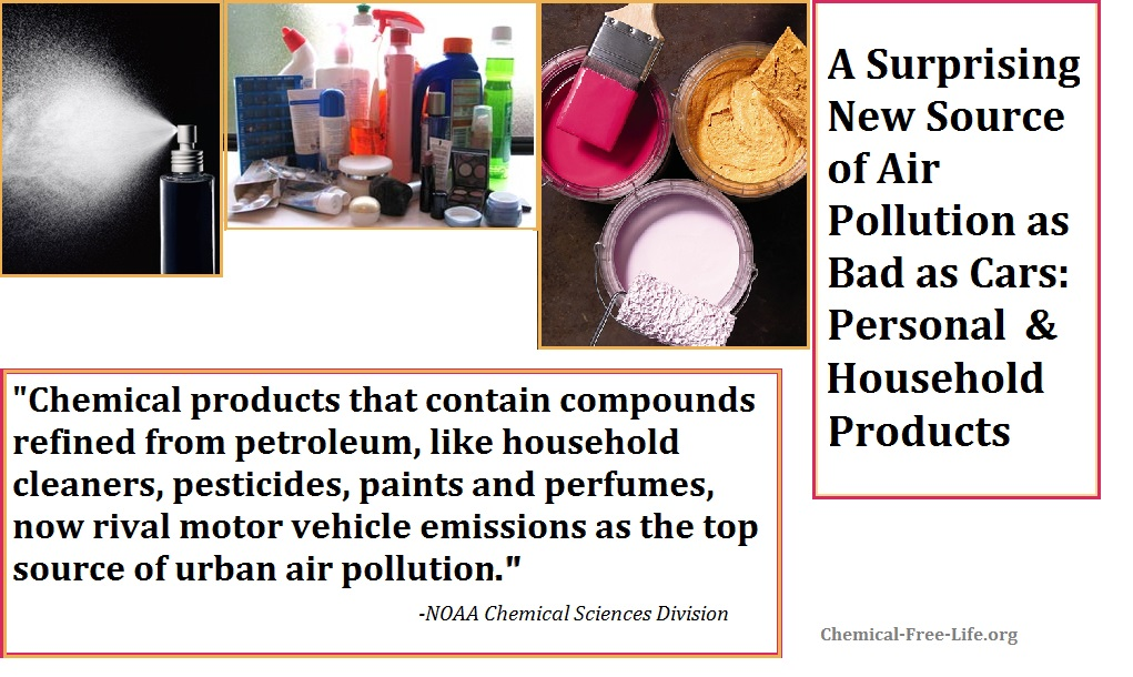 personal and household products cause air pollution as bad as cars