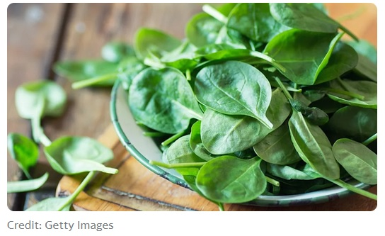 natural food colorings-spinach