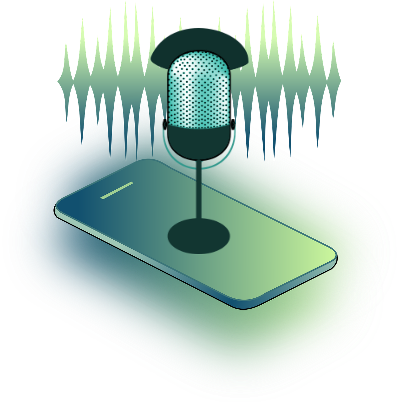 Paula Helit from Pixabay -voice recognition-4414962_1280